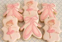 Decorated Cookies ~ Ballerina