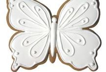 Decorated Cookies ~ Butterflies
