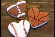 Decorated Cookies ~ Sports