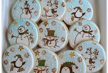 Decorated Cookies ~ Stamped