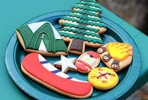 Decorated Cookies ~ Camping