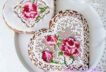 Decorated Cookies ~ Needlepoint