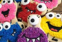 Decorated Cookies ~ Cookie Monsters