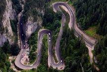 Amazing ROADS / Amazing roads from around the world.  -- Drumuri superbe din toată lumea.  www.haisitu.ro #haisitu #travel