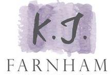 K. J. Farnham Links / Just in case people want to stalk me via social media.