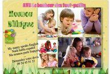 Nounou bilingue / AVB Le bonheur des tout-petits sélectionne les meilleurs intervenants à domicile. Elle recherche pour vous la perle rare !