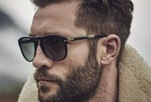 Men Fashion Sunglasses / To us, eyewear / sunglasses for men goes way beyond being a prescription. It's like makeup. It's the most incredible accessory. The shape of a frame or the color of lenses can change your whole appearance. http://lenshop.gr/gyalia-iliou