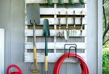 Tools, Storage and Organization / Nifty and beautiful ways to keep your garden equipment tidy.