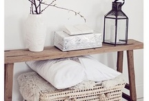 Déco : meubles, accessoires, objets... / by Carine
