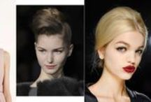 Autumn Winter 2013/2014 hair trends / Looks you can expect to see over the coming months...