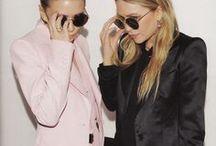 """MK & A OLSEN <3 / Bereits seit """"Full House"""" bin ich ein großer Fan der Olsen Schwestern und ich liebe ihren einzigartigen Stil.   #mkolsen #aolsen #olsentwins #olsen #mkaolsen #fullhouse #fangirl #stil #fashion #style #mode #therow"""