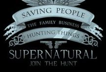 Supernatural /                     Saving people, Family Business.