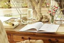 Writing Spaces / Beautiful writing spaces.