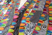 Maryline Collioud-Robert / http://www.pinterest.com/m_colrob/  She is a Swiss quilter, fascinated by color, textures and textiles in general. www.marylinecollioudrobert.com http://maryandpatch.blogspot.com