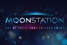 REBRANDING OF THE MOONSTATION / New identity materials of the Moonstation brand. The objective of the product was to reposition the brand towards premium segment.