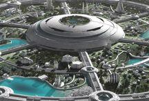 Futuristic design / Scien