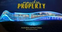 ► Real Estate / Magazine with properties in port cities. (http://nauticproperty.com   7 languages)