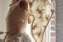 Shabby Angels / Shabby style angels and angel wings!