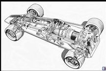 Cool Car Cutaways / Lets look inside the automobile