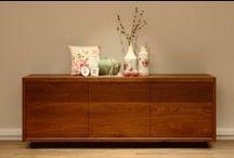 Houten meubelen - www.tiver.nl / Deze houten meubelen worden zowel in noten, kersen als eiken gemaakt op maat in elke gewenste kleur.