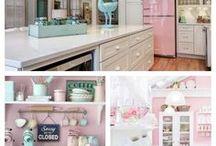 Colores pastel ubicuos - inspiración directamente de la casa de Barbie