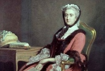 Ramsay / Allan Ramsay (Edinburgh, 13 October 1713 - 10 August 1784) After a scandalous marriage, Ramsay toured Italy before becoming Principal Painter in Ordinary to George III and producing a number of portraits of the King and court.