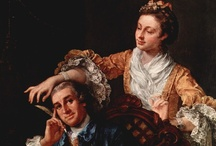 Hogarth / William Hogarth (London, 10 November 1697 - 26 October 1764) A famed satirist, Hogarth produced a series of hugely popular and influential morality paintings and portraits that were sold throughout Europe.