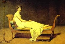 David / Jacques-Louis David (Paris, 30 August 1748 – 29 December 1825) The hugely-ambitious David produced propaganda paintings for his friend, Robespierre, and peppered his work with Revolutionary symbols before his alliance with Napoleon eventually saw him exiled to Brussels.