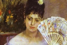 """Morisot / Berthe Morisot (Bourges, 14 January 1841 – 2 March 1895)  A close friend of Édouard Manet, Morisot was celebrated as one of """"les trois grandes dames"""" of Impressionism and her works often feature domestic or pastoral scenes."""
