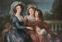 Le Brun / Louise Élisabeth Vigée Le Brun (Paris, 16 April 1755 – 30 March 1842)  Court painter to Marie Antoinette, Le Brun fled France during the French Revolution and cultivated a career as a portrait painter to Russian and European nobility.