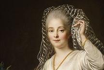 Drouais / François-Hubert Drouais (Paris, December 14, 1727 – October 21, 1775) As chief portrait painter to the court of Louis XV, Drouais portrayed some of the most famous figures of his time, including the King's favourite mistresses and Marie Antoinette.