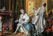 Boucher / François Boucher (Paris, 29th September 1703 – Paris, 30th May 1770) The First Painter of the King and a celebrated theatre designer and costumier, Boucher was as comfortable with intimate domestic scenes as he was with the controversial Odalisque series.