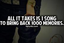 Memories in the Music / by Katie Helf