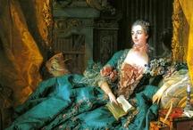 Portraits of Madame de Pompadour / A collection of portraits of Madame de Pompadour, curated from my boards.