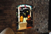 Monk Window / This monk window was built for a wine cellar and is  about 5 feet tall and 4 feet wide. With an arch top.