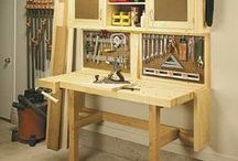 Woodworking, including Tips & Ideas / Everything in connection with the workshop, garage, and tools. / by Daniel Severo