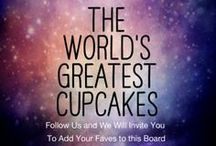 The World's Greatest Cupcakes / This is a board for all of the world's bakers (commercial and private) to post their creative cupcakes for everyone to admire and share. Sponsored by For Heavens Cakes in Thousand Oaks, California, USA