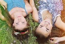 Ystävyys / Valokuvia ystävyksistä ja siskoksista.