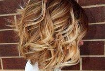 Hiukset / Kampauksia ja hiustyylejä
