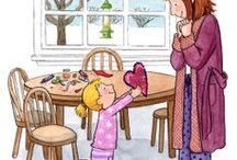 Padres * Parents  and children / Art / Aún no se ha descubierto lugar más bello en el mundo que los brazos de quien  nos ama.....Velos de Faltas..........The love between  a mother and her child is forever