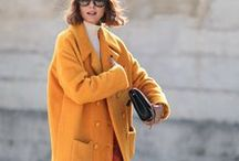 Street style / Women's fashion inspiration from the streets of the world's fashion capitals, Paris, London and New York.