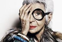 Advanced Style / Totally amazing ladies who as still rocking it in fashion. They are so much braver than us in terms of their style. The documentary about them is really amazing and well worth watching