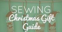 The Ultimate Sewing Christmas Gift Guide / We've put together The Ultimate Sewing Christmas Guide Guide with everything from haberdashery and sewing jewellery to dressmaking subscriptions and gift vouchers. Have a friend who loves to craft or a creative sibling that you need to buy a present for? Or Simply send this list to your friends and family! Find present inspiration here for a crafty Christmas.