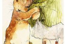 Postage Stamp *Beatrix Potter -  Art