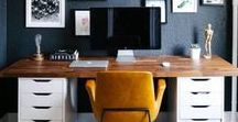 Office Spaces / You will be motivated to work from home in these stylish office spaces.