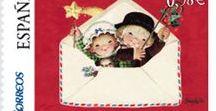 Sellos  *  Niñ@s *  Children        stamps *  art 3