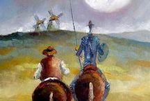 Don Quijote de la Mancha / Miguel de Cervantes Saavedra es considerado una de las máximas figuras de la literatura española y es universalmente conocido por haber escrito Don Quijote de la Mancha, descrito como la primera novela moderna y una de las mejores obras de la literatura universal.