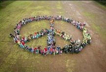 peace / kinder für den frieden