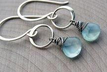 Dangle earrings / Unique long Dangle earrings - so elegant and stylish