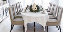 Dining Rooms / Host a dinner party and have a seat.  These are the ultimate gathering spaces.